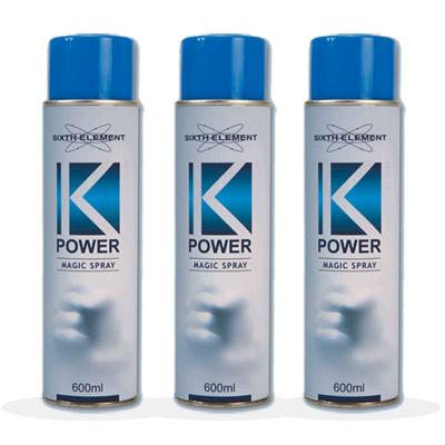 第六元素 K-POWER 潔力噴神奇噴劑(3入)