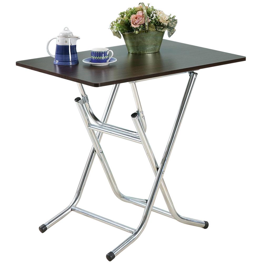 《Homelike》便利折合休閒桌(80x60cm)(二色)