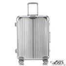 ABS愛貝斯 M8系列 24吋鏡面飛機輪旅行箱(灰)99-052B