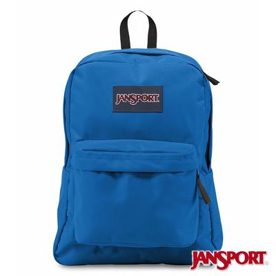 JanSport -SUPERBREAK系列校園後背包 -恆星藍