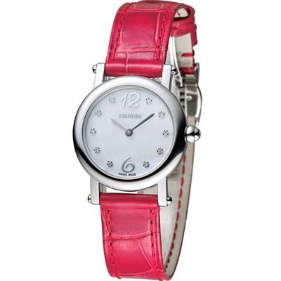 Standel Luxury 詩丹麗 60週年紀念款 頂級真鑽系列-紅/28mm