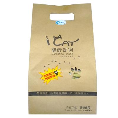 iCAT 貓砂伴侶 活性碳除臭砂 25g X80包