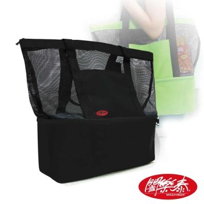 闔樂泰 單肩休閒雙層保溫袋(環保袋 / 購物袋)