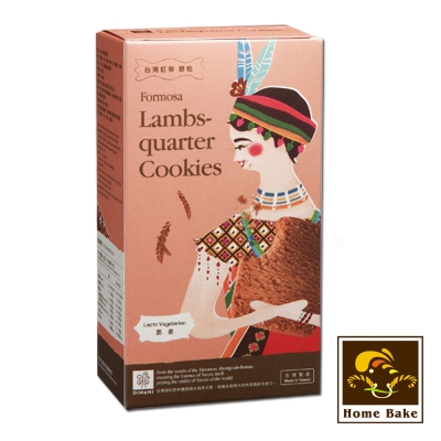 烘焙客 DiHaNi原住民餅乾-台灣紅藜(120g)