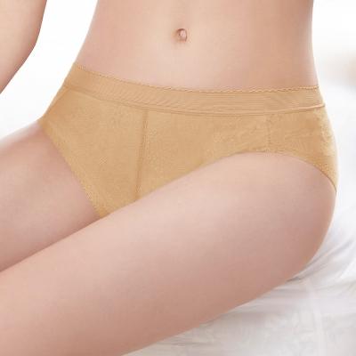 曼黛瑪璉-2016SS低腰三角無痕內褲M-XL(經典膚)