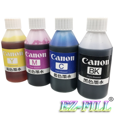 EZ FILL Canon 四色填充墨水組(100cc/瓶)