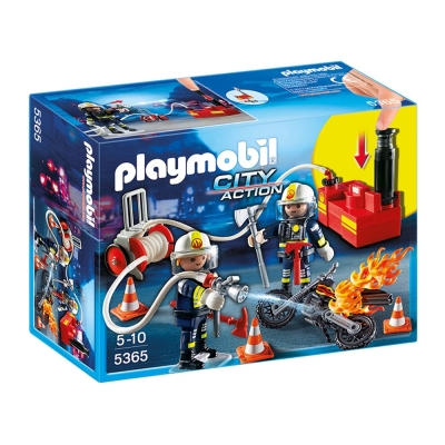 playmobil 救火系列 消防救援隊
