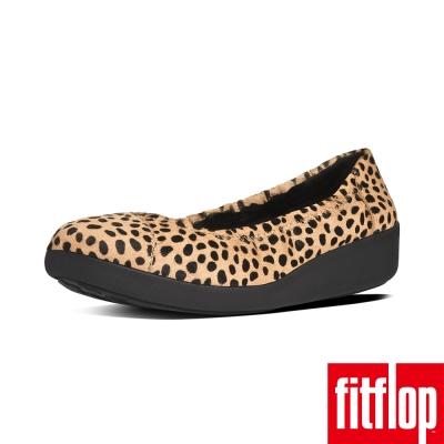 FitFlop TM~F~POP TM BALLERINA PATENT~豹紋