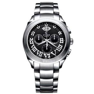 CYMA 精練羅馬計時腕錶(黑)