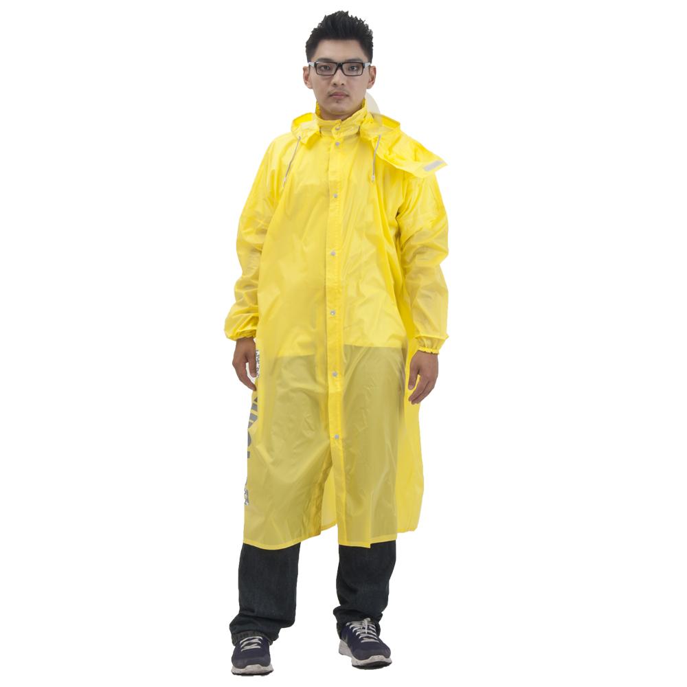 松江風格型輕薄尼龍前開式雨衣(5色)