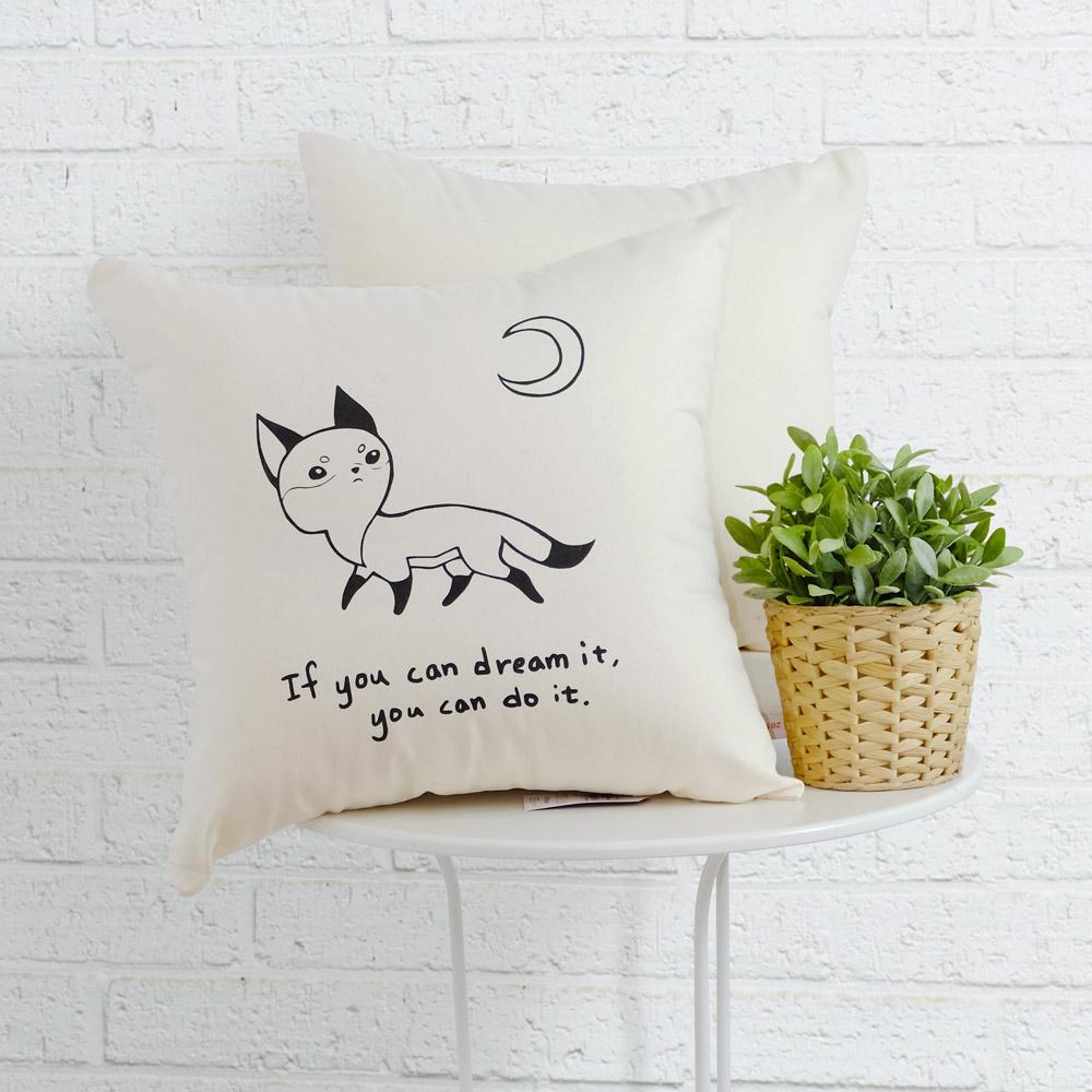 IN HOUSE-抱枕-Canvas系列-Fox