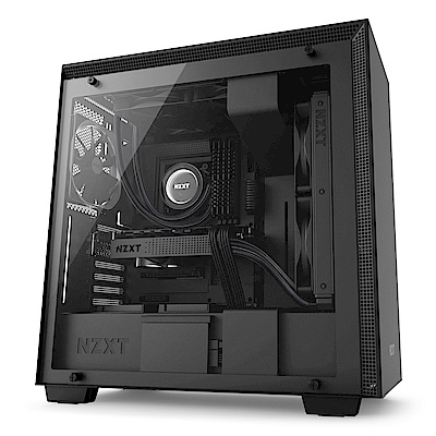 【NZXT】H700 電腦機殼-黑色