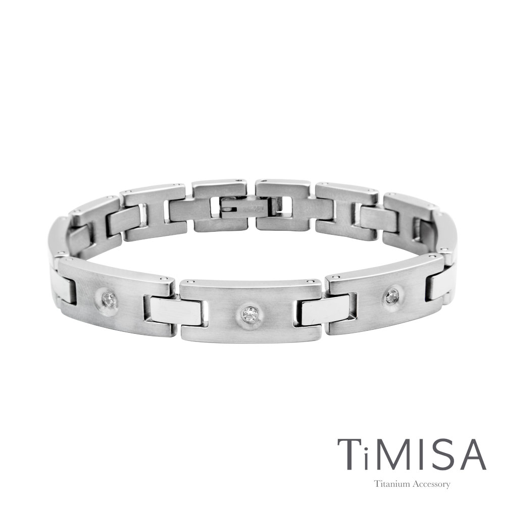 TiMISA 《美麗境界》純鈦鍺手鍊