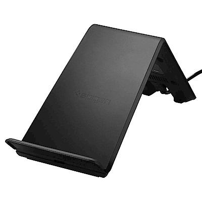 韓國Spigen Essential 5W9W 快充型雙線圈無線充電座(F303W)