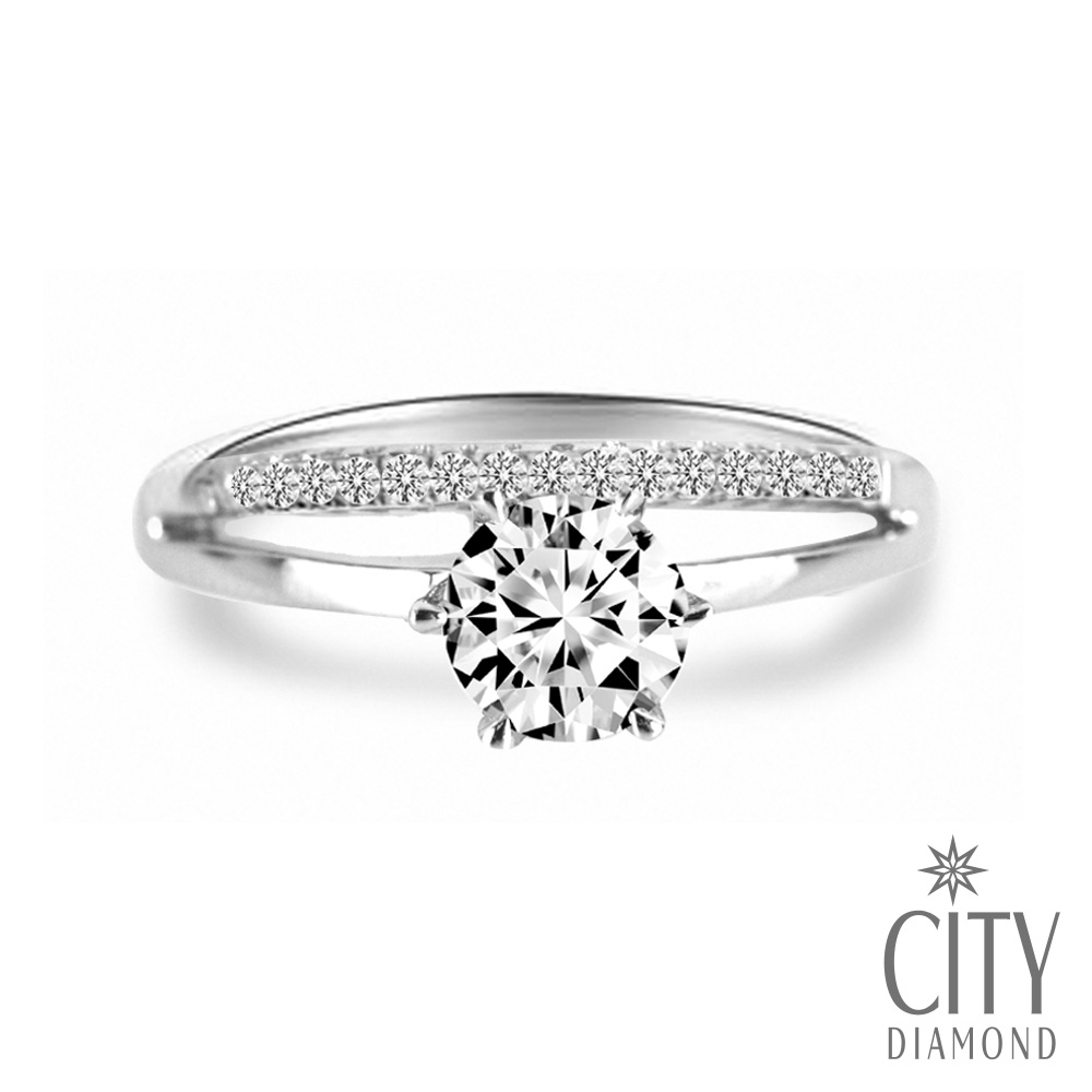 City Diamond『幸福星光』33分鑽戒
