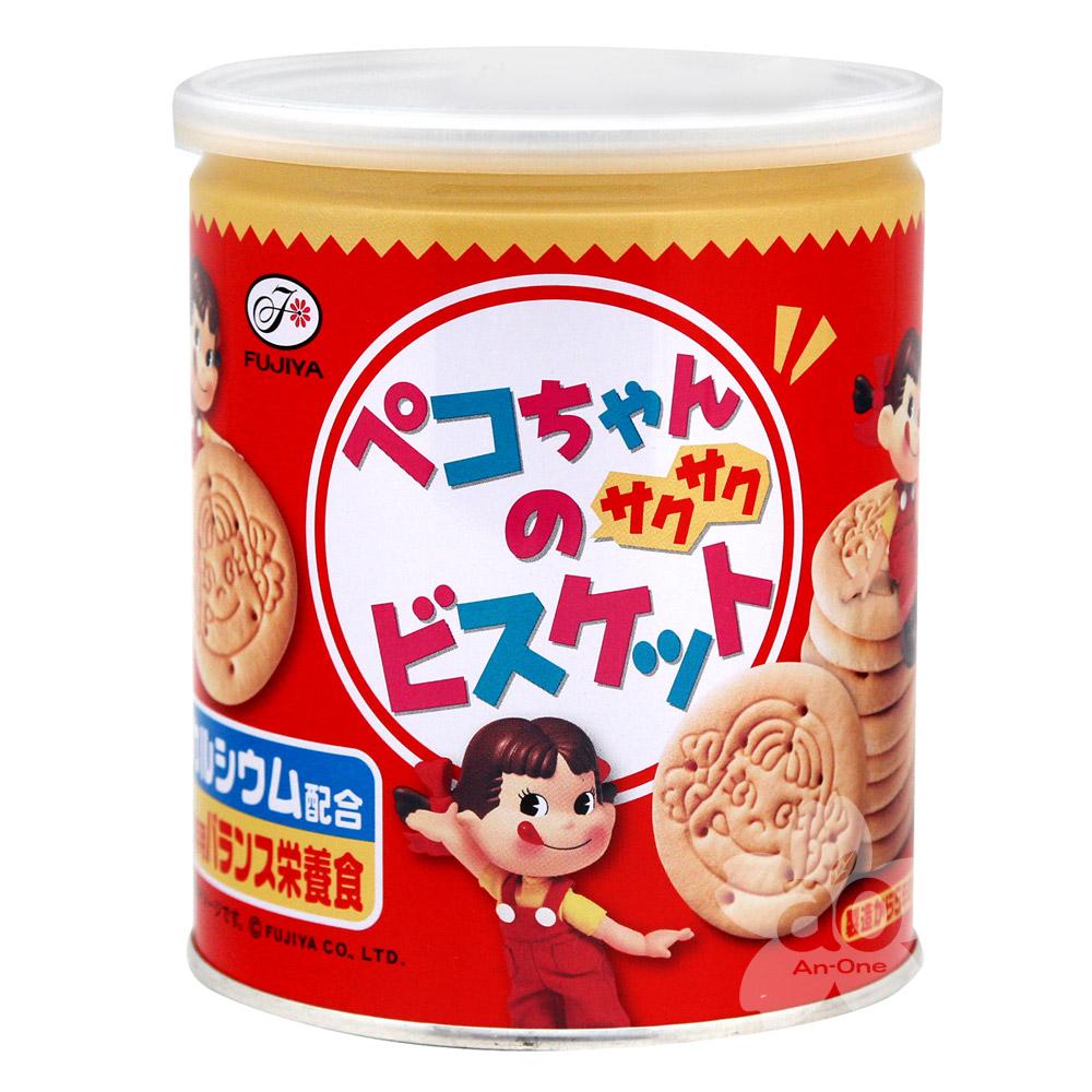 不二家 罐裝餅乾(120g)