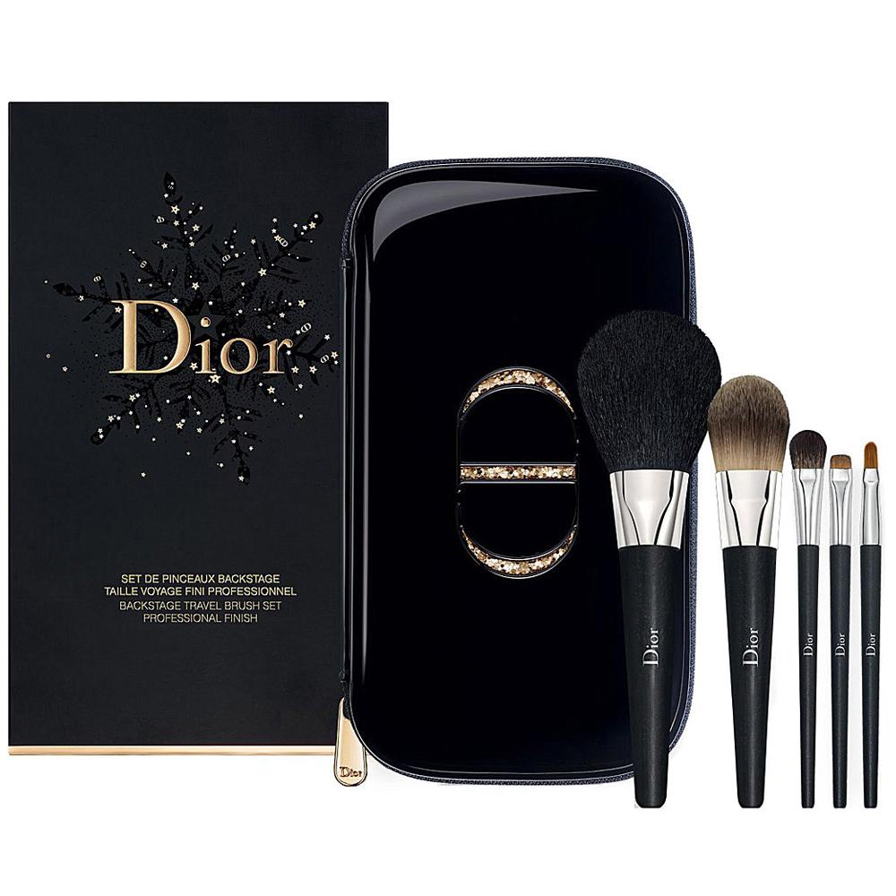 (NG品)Dior迪奧 金燦專業刷具組 耶誕限量