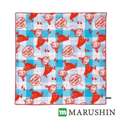 日本丸真Moomin今治三層紗布方巾-小米的資料