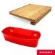 Omehrzer歐梅樂可站立竹砧板+神奇可掛式洗滌收納籃 product thumbnail 1