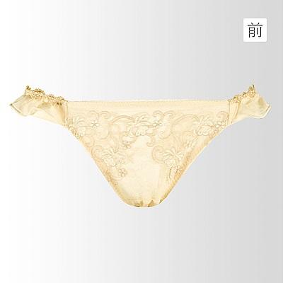 蕾黛絲-華麗V真水-低腰內褲 M-L(暖暖金)