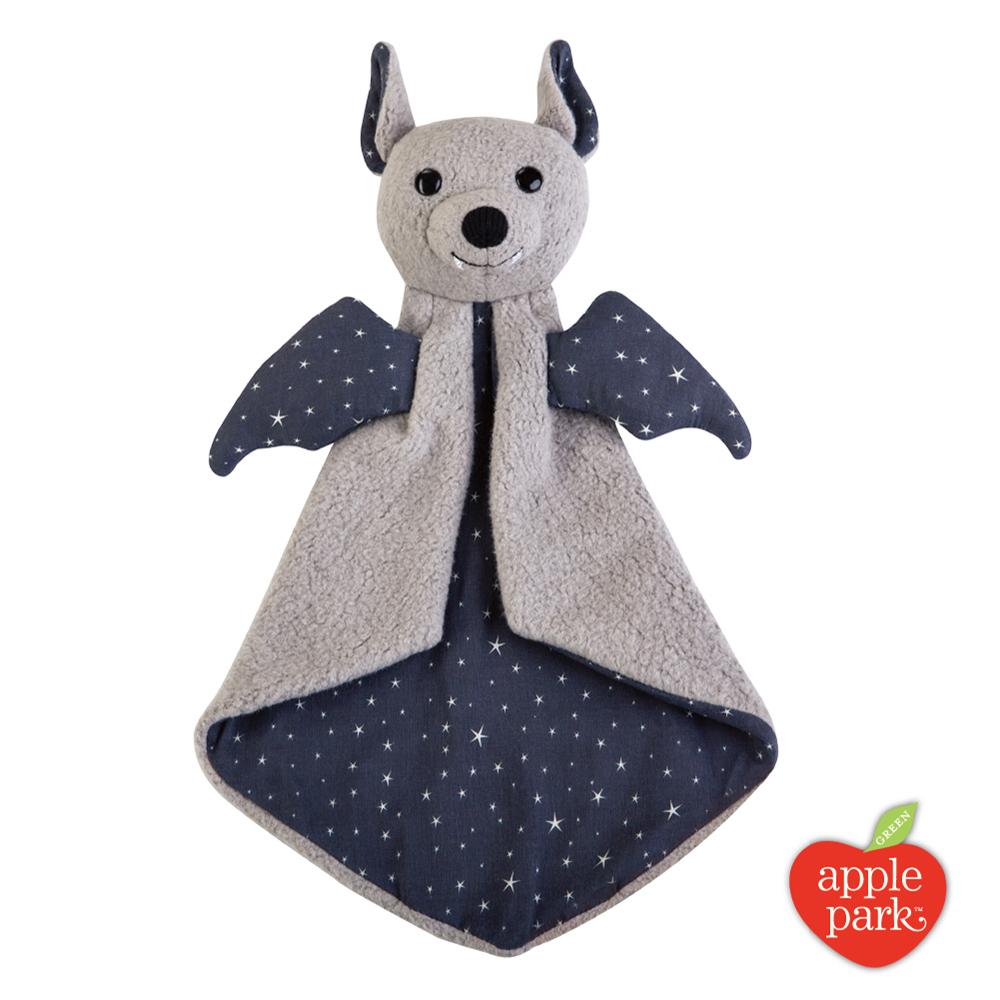 美國 Apple Park 有機棉安撫巾禮盒 -  星點蝙蝠