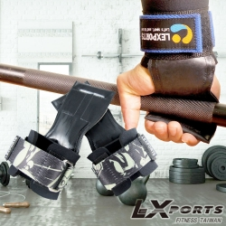 LEXPORTS PowerGripps皮革專業拉力帶-正義騎士