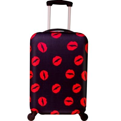性感紅唇-24吋行李箱防污保護套一個(22-26吋行李箱適用)