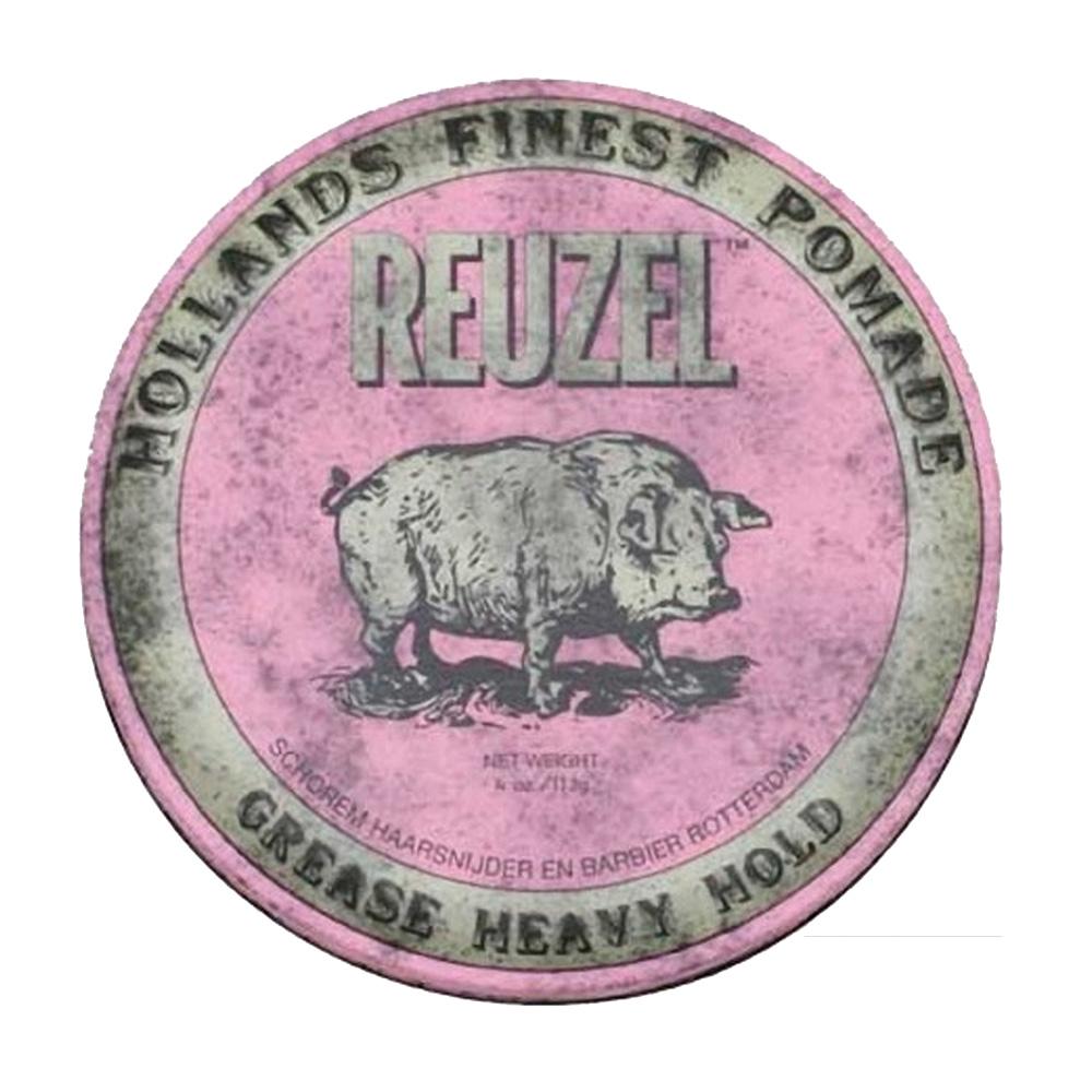 REUZEL 粉紅豬水洗式髮油113g-快速到貨
