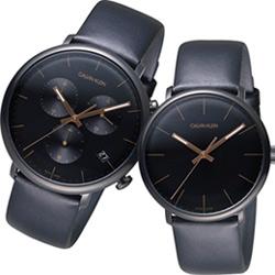 ck錶巔峰系列愛戀聚焦對錶(K8M274CB+K8M214CB)43+40mm