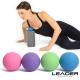 Leader X 環保TPE深層穴位放鬆按摩球 健身紓壓筋膜球 2入-  顏色隨機 product thumbnail 1