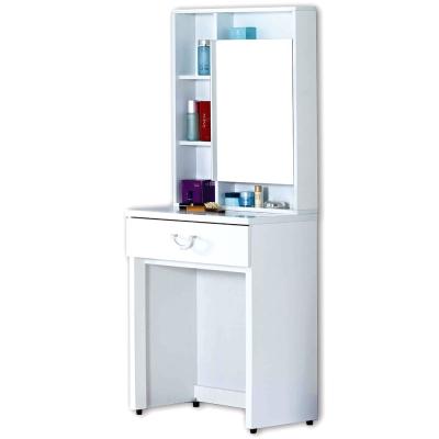 AT HOME-凱渥2尺白色鏡台(不含椅)
