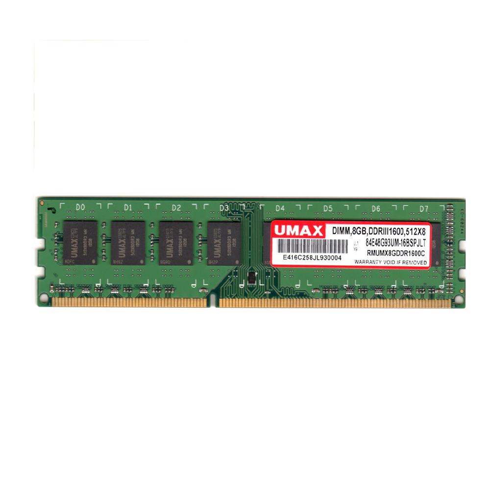 UMAX DDR3-1600 8GB 512X8  桌上型記憶體