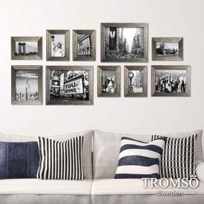 TROMSO-時尚紐約刷銀相框牆10框組