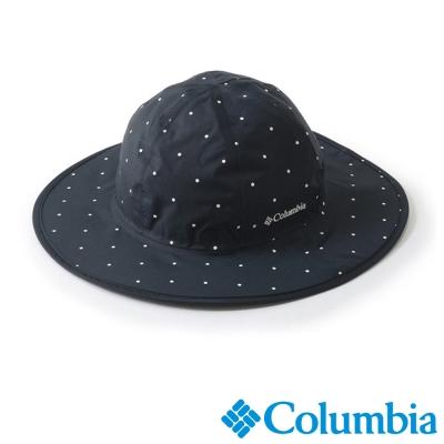 【Columbia哥倫比亞】男女-日版防水快排仕女帽-深藍 UPU52450NV