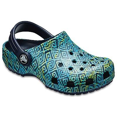 Crocs 卡駱馳 (童鞋) 經典圖案小克駱格 204816-410