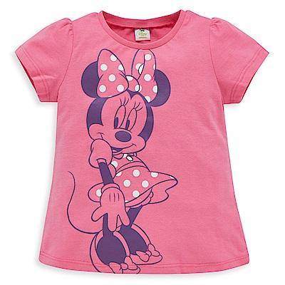 Disney 米妮系列甜心泡袖上衣 (2色可選)