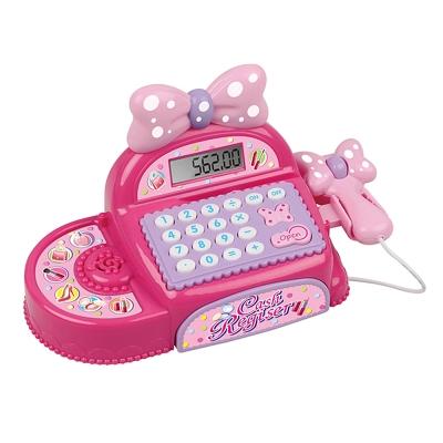 Amuzinc酷比樂 家家酒玩具 音效粉紅蝴蝶結收銀機 35562