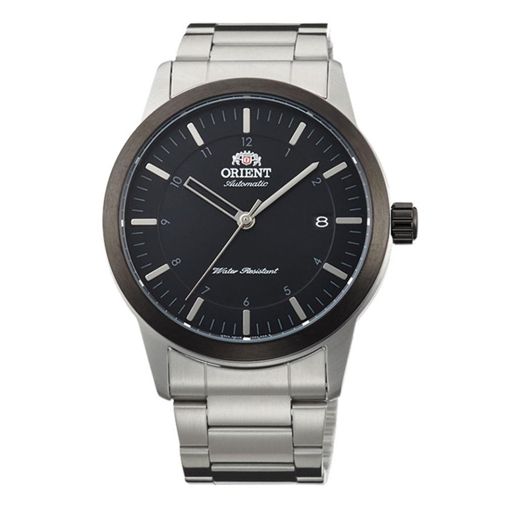 ORIENT 當代時尚自動上鍊機械腕錶(FAC05001B0)-黑/41mm