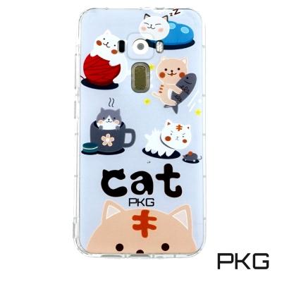 PKG ASUS Zenfone3 5.5 ZE552KL 保護殼(時尚彩繪)日...