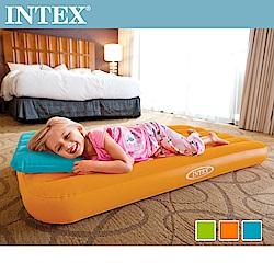 INTEX 兒童植絨充氣床墊-送充氣枕(66801)