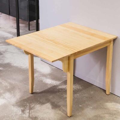 CiS自然行實木家具-單邊實木延伸桌74~98cm(扁柏自然色)