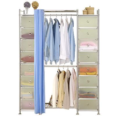 巴塞隆納-W2+2D型60公分衣櫥置物櫃