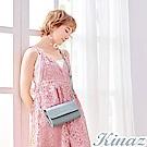 KINAZ 夢幻糖衣兩用斜背包-晴空藍-城市輕旅系列