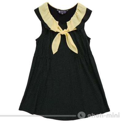 【ohoh-mini 孕婦裝】俏麗配色雪紡點點孕婦上衣