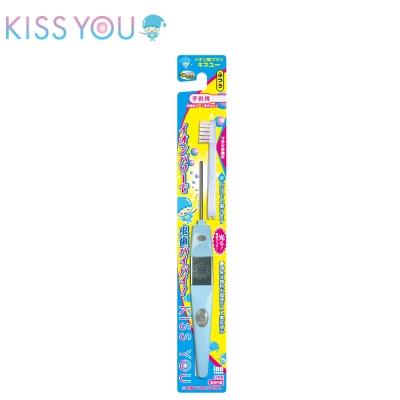 日本KISS YOU 負離子兒童牙刷(3~7歲 H61) 顏色隨機