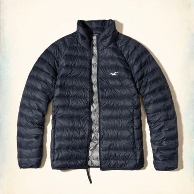 Hollister HCO 長袖 外套 藍色 0270