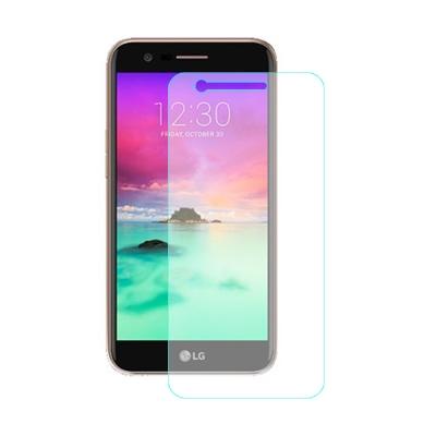 【SHOWHAN】LG K10(2017) 9H鋼化玻璃貼 0.3mm疏水疏油高...