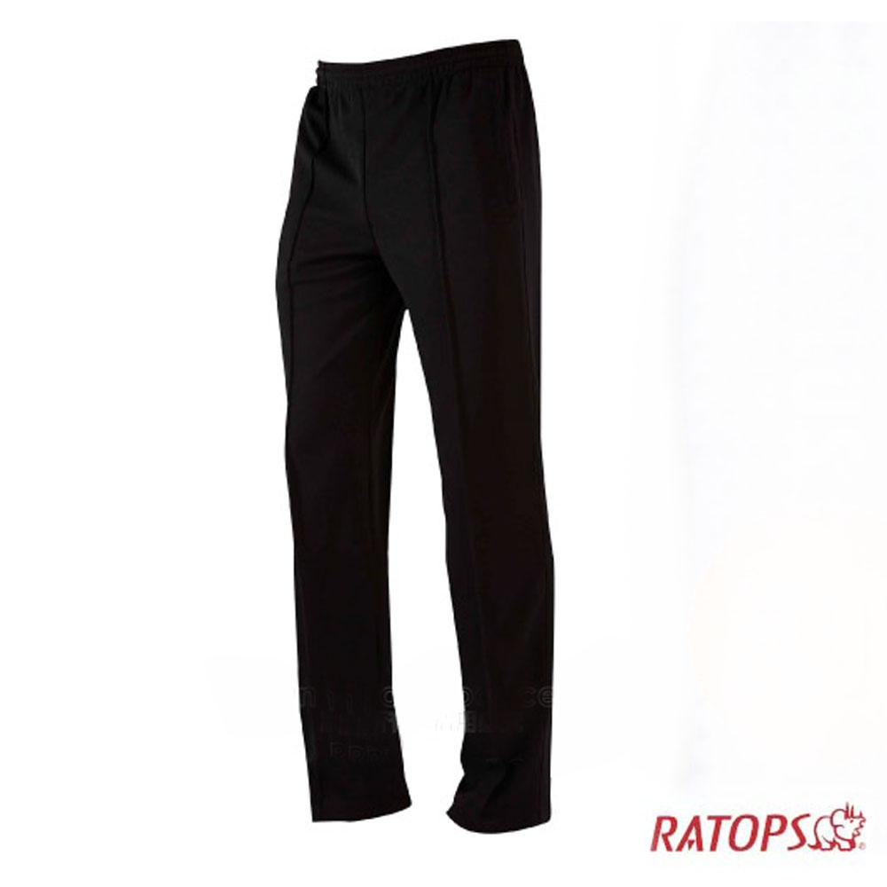【瑞多仕】中性款 COOLPLUS 排汗長褲_DB8770 黑色 V1