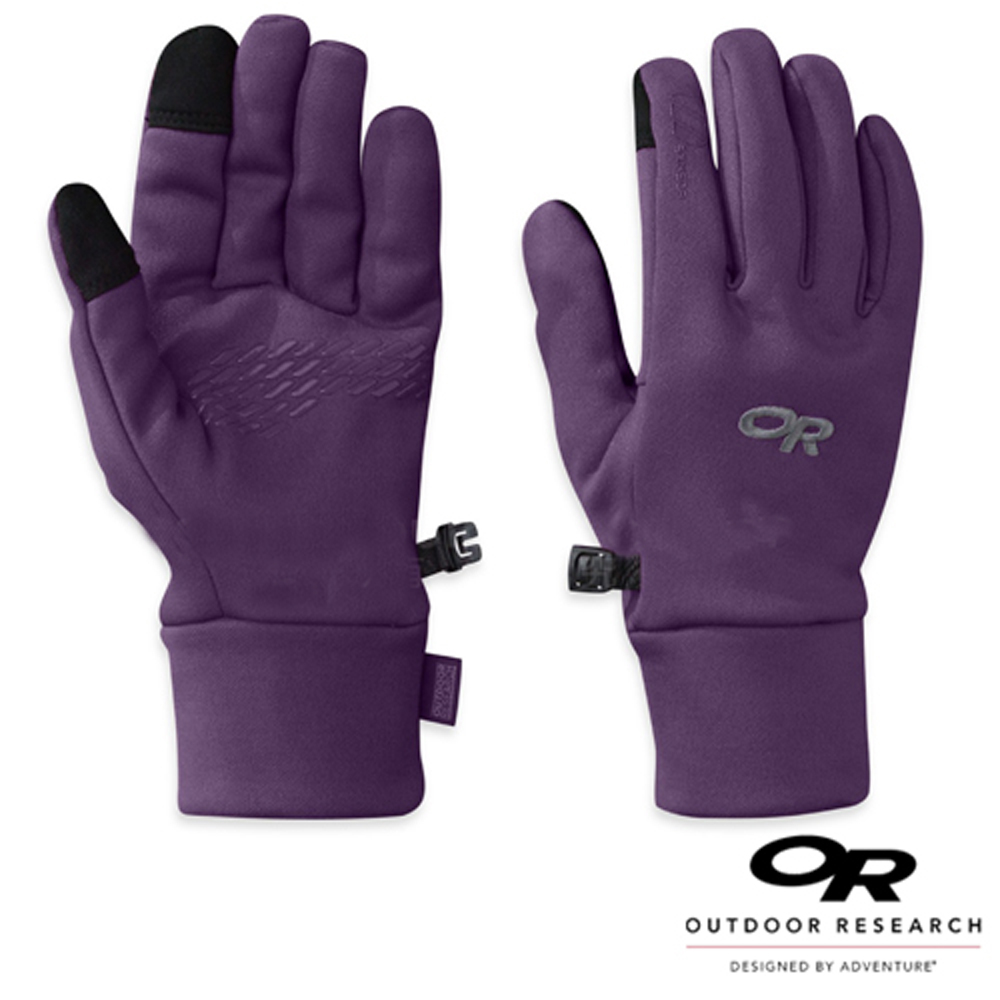 【Outdoor Research】女 PL100 防風透氣彈性保暖手套_紫