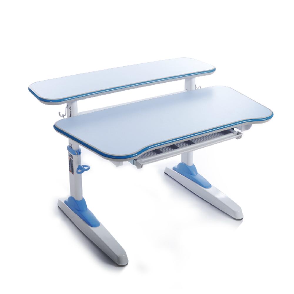 【悅家居】IQPlus兒童雅致成長書桌(藍)